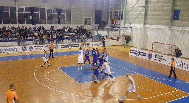 CSM Mediaș a fost învinsă în deplasare de Steaua București