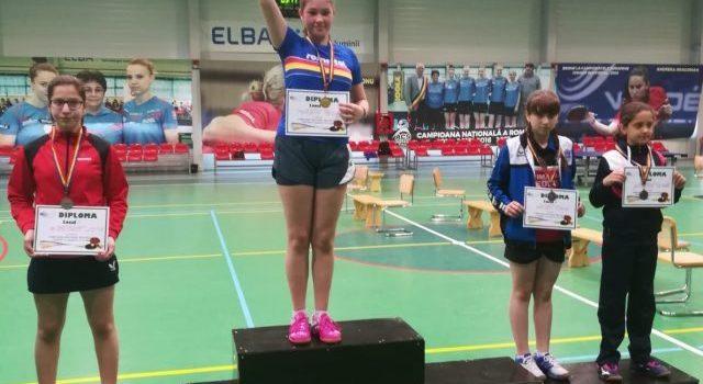 2 medalii pentru CSM Mediaș la tenis de masă juniori 3