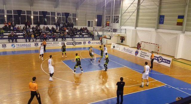 Eșec la limită la Constanța pentru CSM Mediaș, scor 78-74